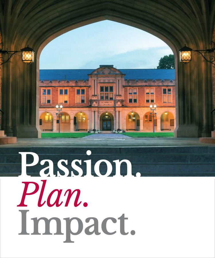 Passion. Plan. Impact.